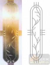 艺术玻璃图库-浮雕贴片-花藤-00084