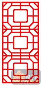 中式镂空装饰001-窗棂-中式镂空装饰001-020-镂空雕花板