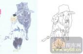 28人及动物-牧牛图-00005-装饰玻璃