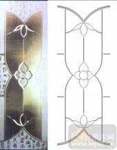 装饰玻璃-浮雕贴片-花纹-00057