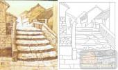 05肌理雕刻系列样图-台阶-00146-艺术玻璃图库