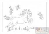 03动物系列-戎马生涯-00095-雕刻玻璃图案