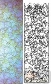 05肌理雕刻系列样图-叶子-00106-玻璃雕刻