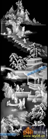 01-出游-048-玉雕灰度图