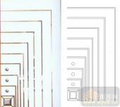 艺术玻璃图库-滑动门系列2-几何图案-00091