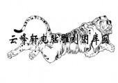 虎1-矢量图-虎据龙蟠-25-虎雕刻图案