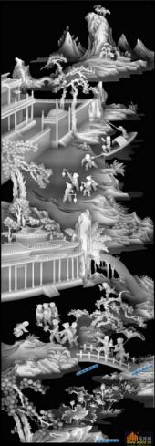 百子图002-童子乐-7_2-浮雕灰度图