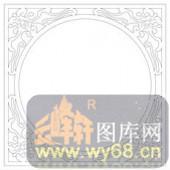 镂空装饰单式002-圆圈-镂空装饰单式002-018-镂空雕刻图片下载