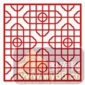 镂空装饰单式001-艺术花纹-镂空装饰单式001-019-欧式镂空图
