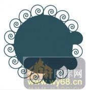 欧式镂空装饰001-色彩沉重-欧式镂空装饰001-053-屏风
