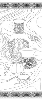 竖板59,花瓶
