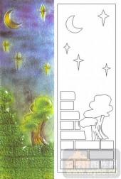 05肌理雕刻系列样图-日月星空-00007-艺术玻璃图库