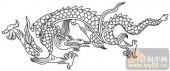龙-白描图-飞龙在天-long47-龙图案