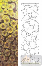 05肌理雕刻系列样图-柠檬片-00119-装饰玻璃