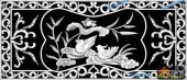 03-鸳鸯-042-花鸟浮雕灰度图