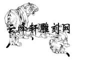 虎2-矢量图-虎超龙骧-72-虎路径图