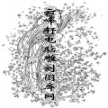锦瑟年华-白描图-11富贵-白描仕女画
