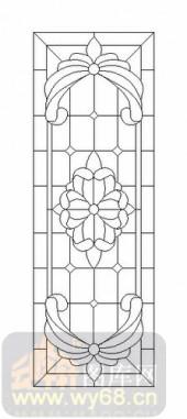 装饰玻璃-12镶嵌-艺术花纹-00051