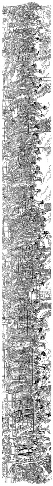 八十七神仙卷,八十七神仙卷白描图,八十七神仙卷高清图