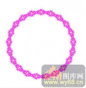 122种圆形边框矢量-珠圆玉洁-120种圆形边框矢量-018-中式花纹