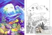 04肌理雕刻系列样图-海底世界-00236-喷砂玻璃
