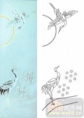 晶纹系列-仙鹤-00017