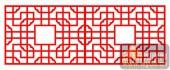 中式镂空装饰001-方形-中式镂空装饰001-018-镂空雕花板