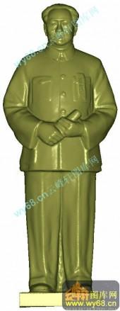 毛主席-三维雕刻素材