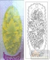 05肌理雕刻系列样图-落叶-00093-雕刻玻璃图案