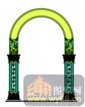 欧式镂空装饰001-绿色庄园-欧式镂空装饰001-019-酒柜