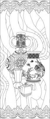 竖板66,花瓶