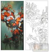 2011设计艺术玻璃刻绘-墨-雕刻玻璃