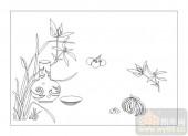 02古文化系列-桂馥兰馨O-00086-雕刻玻璃