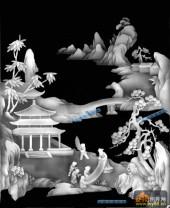 琴棋书画001-琴棋书画-画-琴棋书画浮雕图库