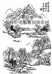 09年3月1日第一版画山水-矢量图-江山如画-14-路径矢量图