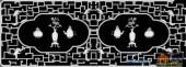 博古-古风-011-博古架浮雕灰度图