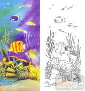 05肌理雕刻系列样图-海底世界-00069-艺术玻璃图库