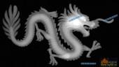 草龙-蟠龙-038-雕刻灰度图