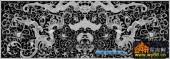 鱼图-传统花纹-019-浮雕灰度图