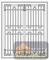 镂空装饰组合式-循回线-镂空装饰组合式-019-玄关隔断