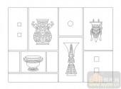 02古文化系列-片言九鼎-00110-玻璃雕刻