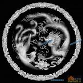03-龙凤呈祥-038-雕刻灰度图