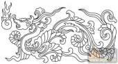 龙-白描图-凤表龙姿-long56-白描龙图