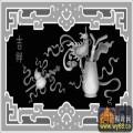 吉祥 葫芦 剑 花纹-玉石灰度图