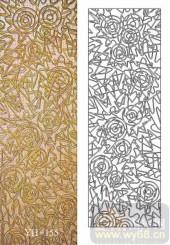 雕刻玻璃-肌理雕刻系列1-抽象线条-00155