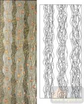 雕刻玻璃-肌理雕刻系列1-条状花纹-00128