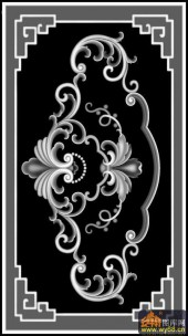花 花纹 花钩-浮雕图案