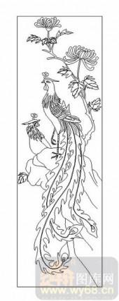 01传统系列-凤凰-00040-艺术玻璃图库