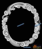 01-龙纹-064-玉雕精雕灰度图