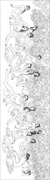 横版19,人物